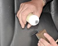 Autolederpolster - Lederreparatur