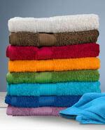 Polsterreinigung mittels Frottee-Handtüchern